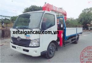 Xe tải cẩu Hino 3,5 tấn