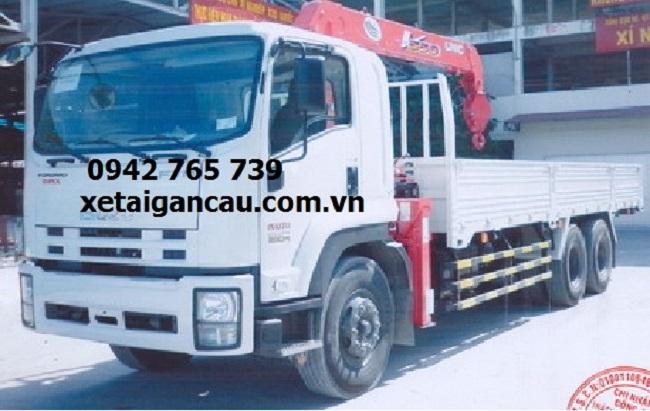 Xe tải cẩu isuzu 13 tấn gắn cẩu 5 tấn post image