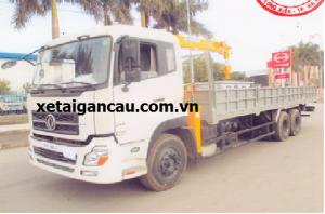 Xe tải cẩu Dongfeng 3 chân