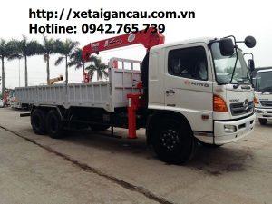 Xe tải cẩu Hino 13 tấn
