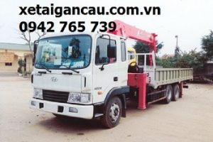 Xe tải Hyundai HD210 gắn cẩu 3 tấn