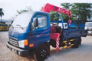 Xe tải cẩu Hyundai hd72