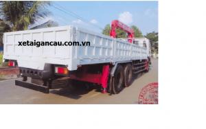 Xe tải cẩu isuzu 6,5 tấn gắn cẩu 5 tấn