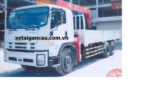 Xe tải cẩu isuzu gắn cẩu unic 5 tấn