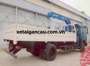 Xe tải Veam gắn cẩu 5 tấn