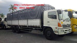 Xe tải Hino 15 tấn thùng dài thumbnail