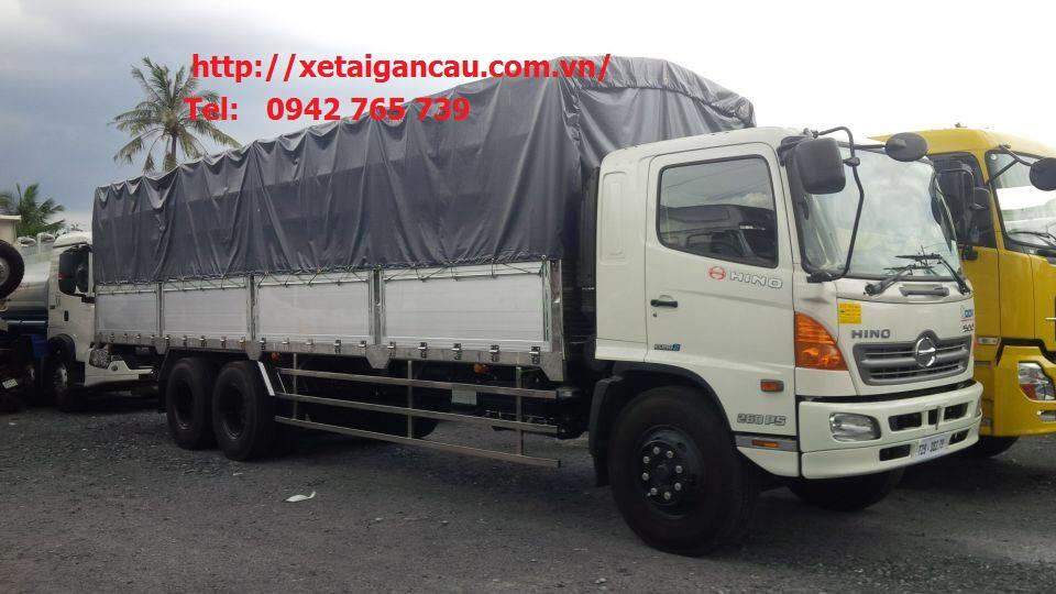 Xe tải Hino 15 tấn thùng dài post image