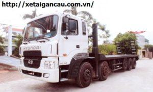 Xe chở máy công trình Hyundai HD360
