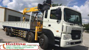 Xe tải hyundai  HD320 gắn cẩu 7 tấn