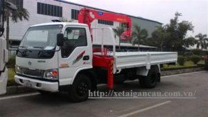 Xe tải Chiến Thắng lắp cẩu 3 tấn