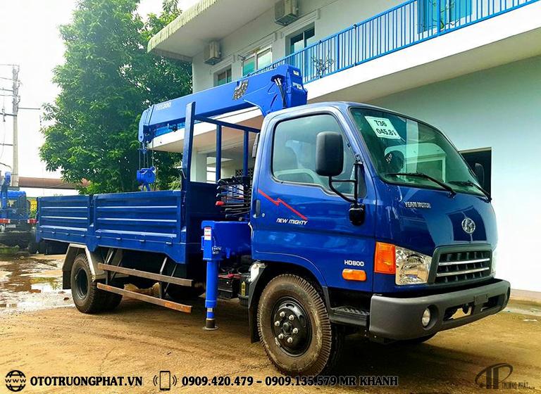 Xe tải cẩu HD800