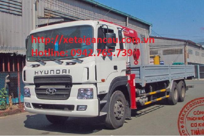 Xe tải cẩu hyundai hd250 post image