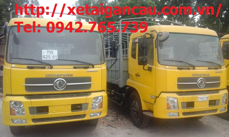 Xe tải Dongfeng 4 chân thumbnail