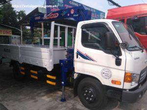 Xe tải Hyundai HD99 gắn cẩu 3 tấn